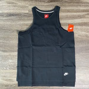 Nike Tech Fleece Jersey Black Blank